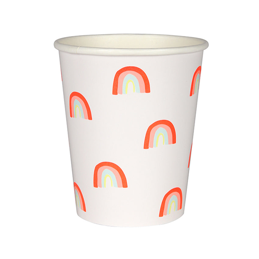 Meri Meri Rainbow Pattern Party Cups, MM-Meri Meri UK, Putti Fine Furnishings