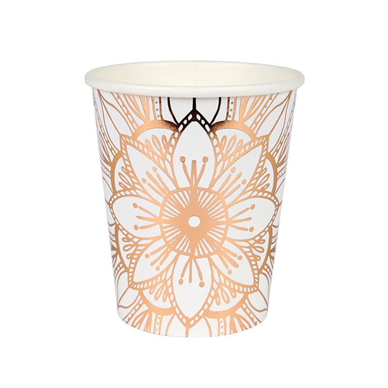 Meri Meri Mandala Pattern Paper Cups, MM-Meri Meri UK, Putti Fine Furnishings