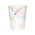 Meri Meri Wildflower Pattern Paper Cups