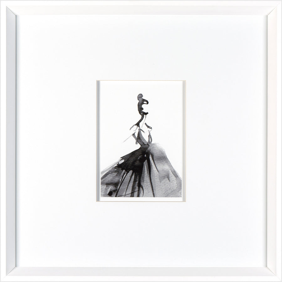 """Ball Dress"" Framed Art Print"