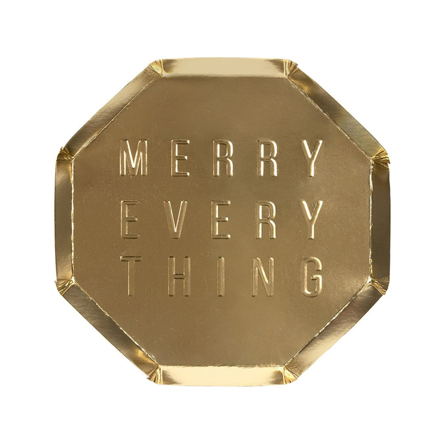 Meri Meri Merry Everything Plate - Small