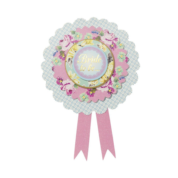 "Truly Hen Party ""Bride to Be"" Rosette -  Party Supplies - Talking Tables - Putti Fine Furnishings Toronto Canada - 1"