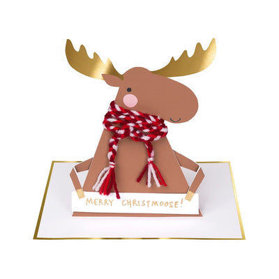 "Meri Meri ""Merry Christmoose"" Card 