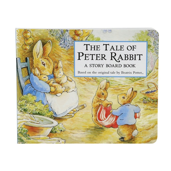 "Beatrix Potter ""The Tale of Peter Rabbit"" Board Book, KP-Kids Preffered, Putti Fine Furnishings"