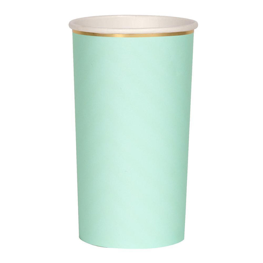 Meri Meri Mint Paper Highball Cups