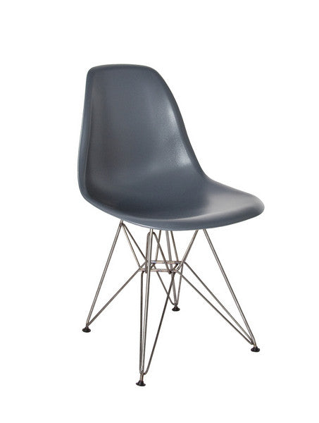 """Eifle"" Mid Century Chair Grey"