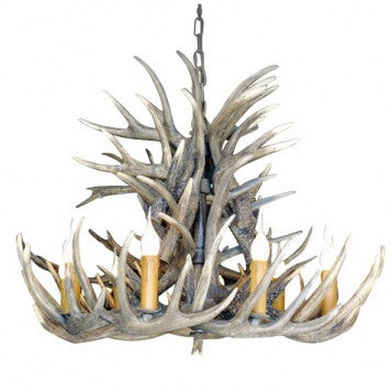 Antler Chandelier-Ceiling Fixture-BI-Bethel International-Putti Fine Furnishings