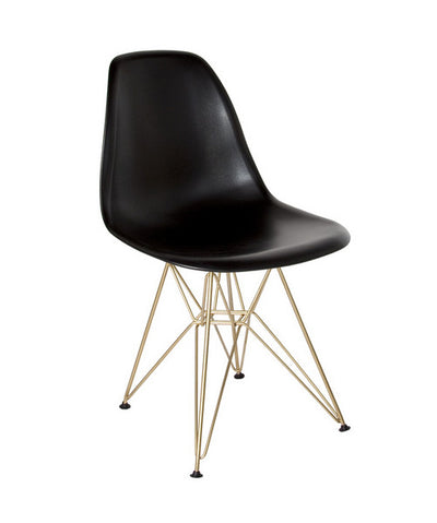 """Eifle""Mid Century Chair - Black, SIF-Style in Form, Putti Fine Furnishings"