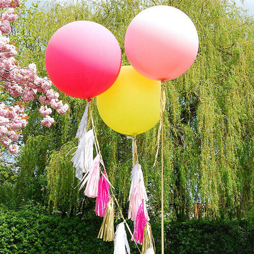 "Giant Round Balloon 36""- Rose Pink"