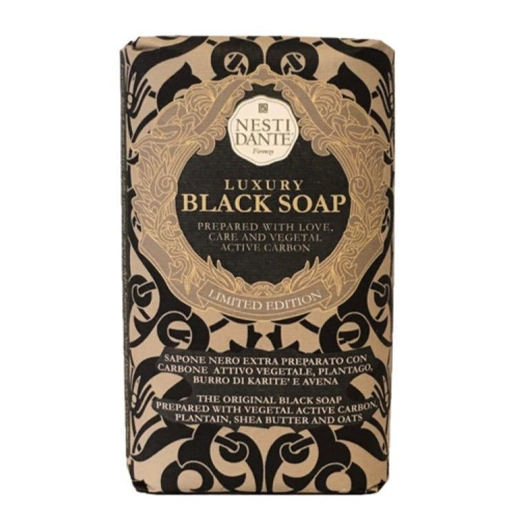 Nesti Dante Limited Edition Black Soap | Putti Fine Furnishings e