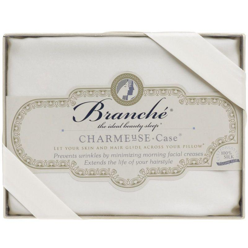 Branche Silk Charmeuse Pillowcase - Cream