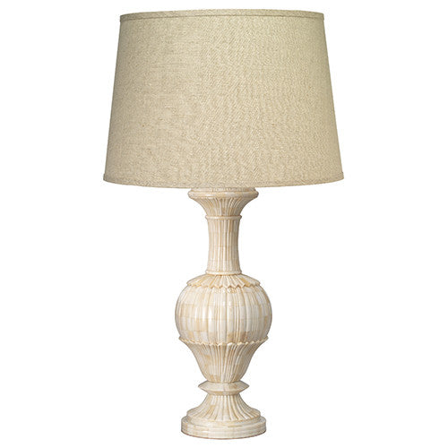 Jamie Young Carved Bone Table Lamp Large -  Table Lamp - Jaimie Young - Putti Fine Furnishings Toronto Canada - 3