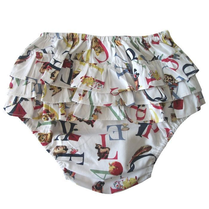 ABC Frilly Knickers-Children's Clothing-PC-Powell Craft Uk-Putti Fine Furnishings