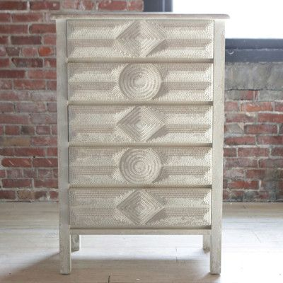 Vintage Reproduction Tramp Art Dresser, CCO-Creative Co-op - Design Home, Putti Fine Furnishings