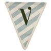 Meri Meri Alphabet Bunting - Letter V, MM-Meri Meri UK, Putti Fine Furnishings