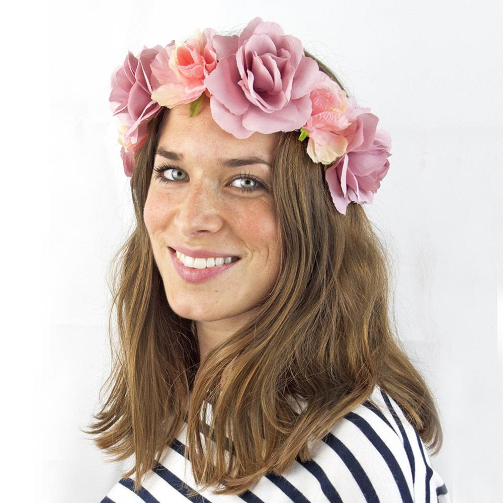 Truly Scrumptious Floral Headband -  Party Supplies - Talking Tables - Putti Fine Furnishings Toronto Canada - 2
