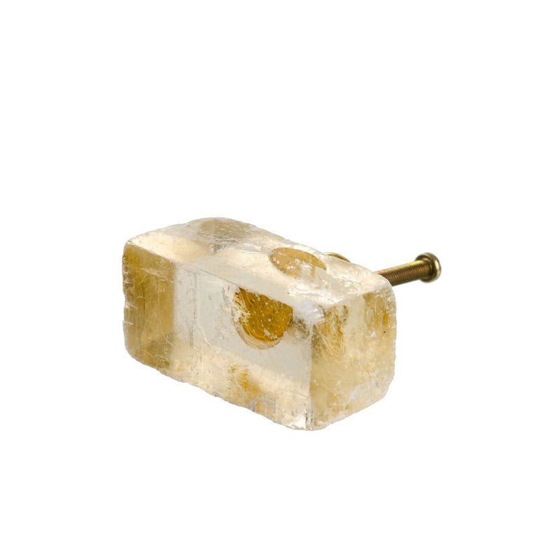 Calcite Knob - Yellow