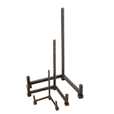 Iron Plate Stand  - Medium -  Decorative Accessories - Indaba Trading - Putti Fine Furnishings Toronto Canada - 2