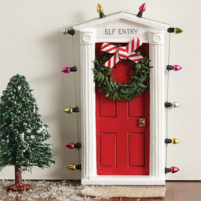 Mud Pie Magic Elf Door | Putti Christmas Canada