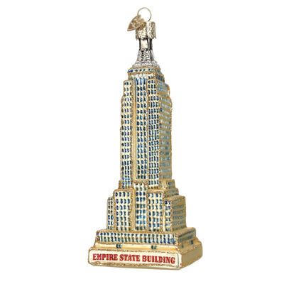 Old World Christmas Empire State Building Christmas Ornament -  Christmas - Old World Christmas - Putti Fine Furnishings Toronto Canada - 1