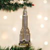 Old World Christmas Chrysler Building Glass Ornament, OWC-Old World Christmas, Putti Fine Furnishings