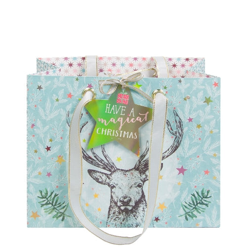 "Artebene ""Have a Magical Christmas"" Deer Gift Bag 