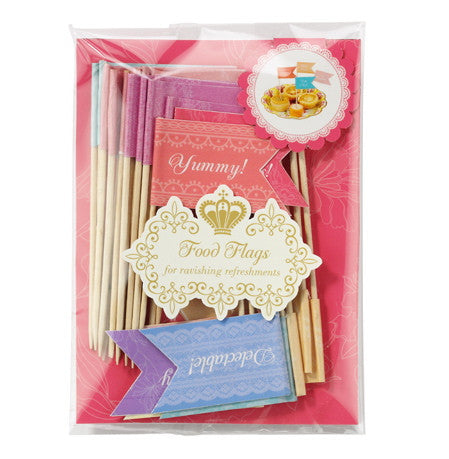 Truly Scrumptious Food Flags -  Party Supplies - Talking Tables - Putti Fine Furnishings Toronto Canada - 1
