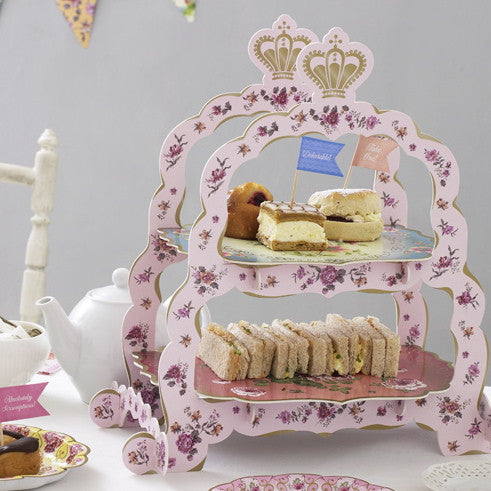 Truly Scrumptious Sandwich Stand -  Party Supplies - Talking Tables - Putti Fine Furnishings Toronto Canada - 3