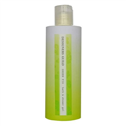Designers Guild Green Fig Bath and Shower Gel-Bath Products-DG-Designers Guild-Putti Fine Furnishings