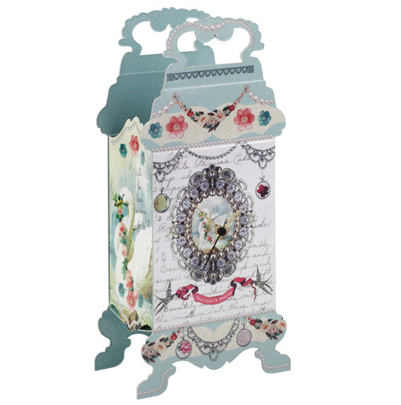 Pastries and Pearls Table Clock-Party Supplies-TT-Talking Tables-Putti Fine Furnishings