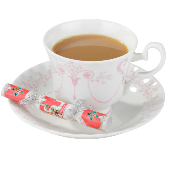 """Pastries and Pearls"" Saucer Crackers, TT-Talking Tables, Putti Fine Furnishings"
