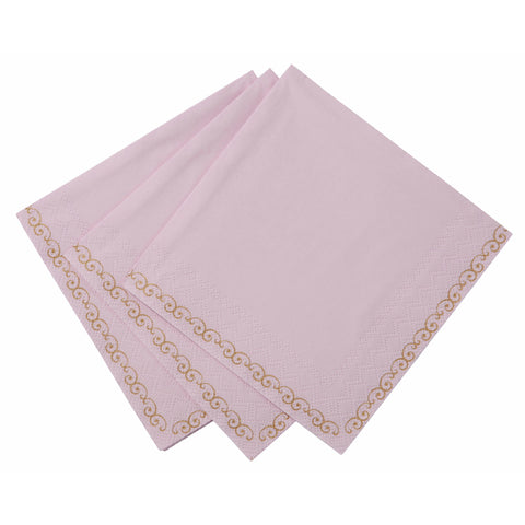 Truly Scrumptious Pink Beverage Napkin -  Paper Napkins - Talking Tables - Putti Fine Furnishings Toronto Canada - 1