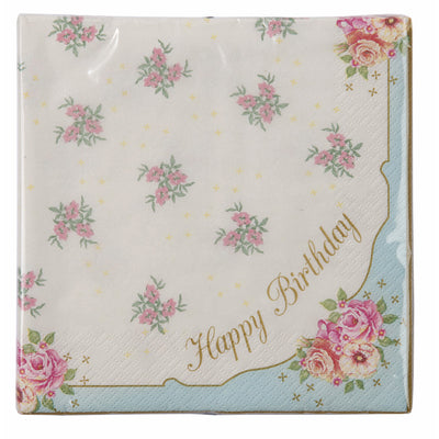 Happy Birthday Napkin -  Paper Napkins - Talking Tables - Putti Fine Furnishings Toronto Canada - 2