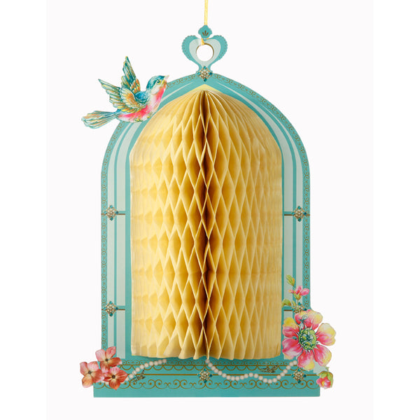 Honeycomb Birdcage -  Party Supplies - Talking Tables - Putti Fine Furnishings Toronto Canada