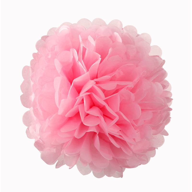 Decedant Decs Pink Pom Poms-Decorations-TT-Talking Tables-Putti Fine Furnishings