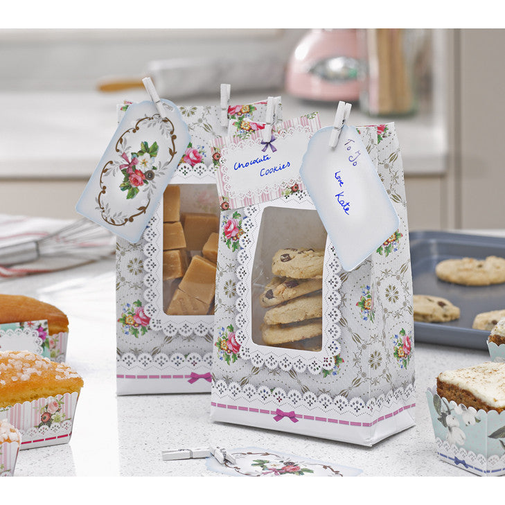 Frills and Frosting Cookie Bags-Gift Bags-TT-Talking Tables-Putti Fine Furnishings