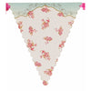 Truly Scrumptious Floral Bunting, TT-Talking Tables, Putti Fine Furnishings