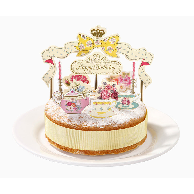 Happy Birthday Pop Tops -  Cake Toppers - Talking Tables - Putti Fine Furnishings Toronto Canada - 2