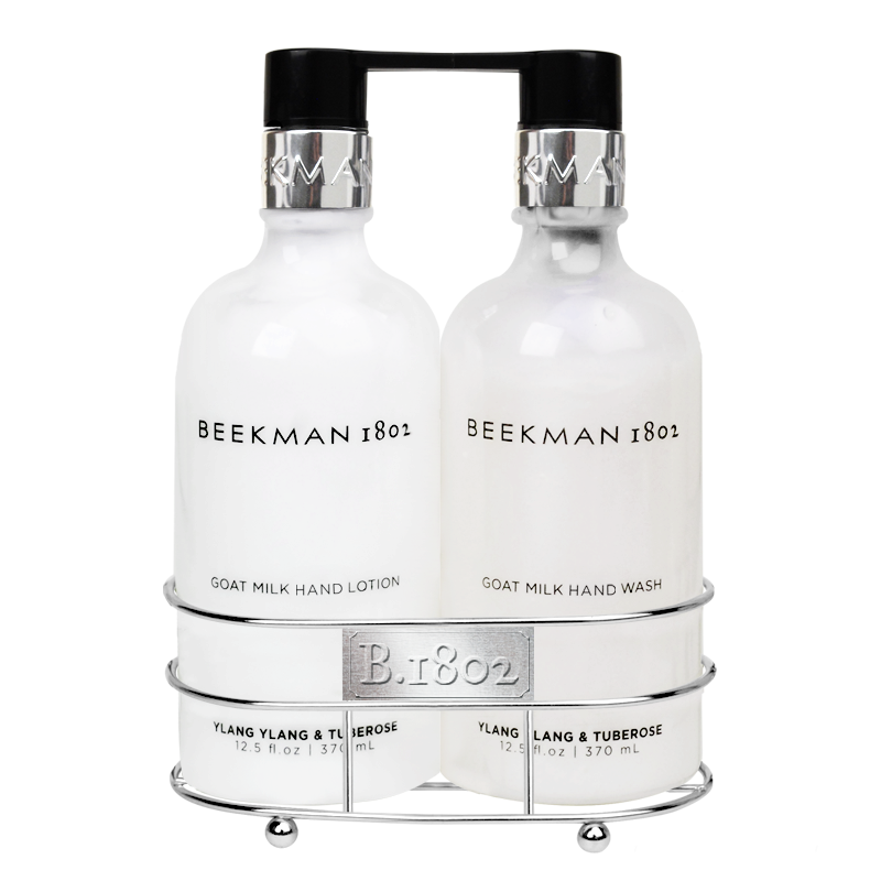 Beekman 1802 - Ylang Ylang & Tuberose Hand Care Duo Caddy Set, BK-Beekman 1802, Putti Fine Furnishings