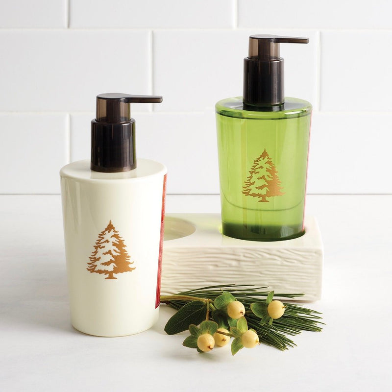 Thymes Frasier Fir Hand wash and Lotion Sink Set