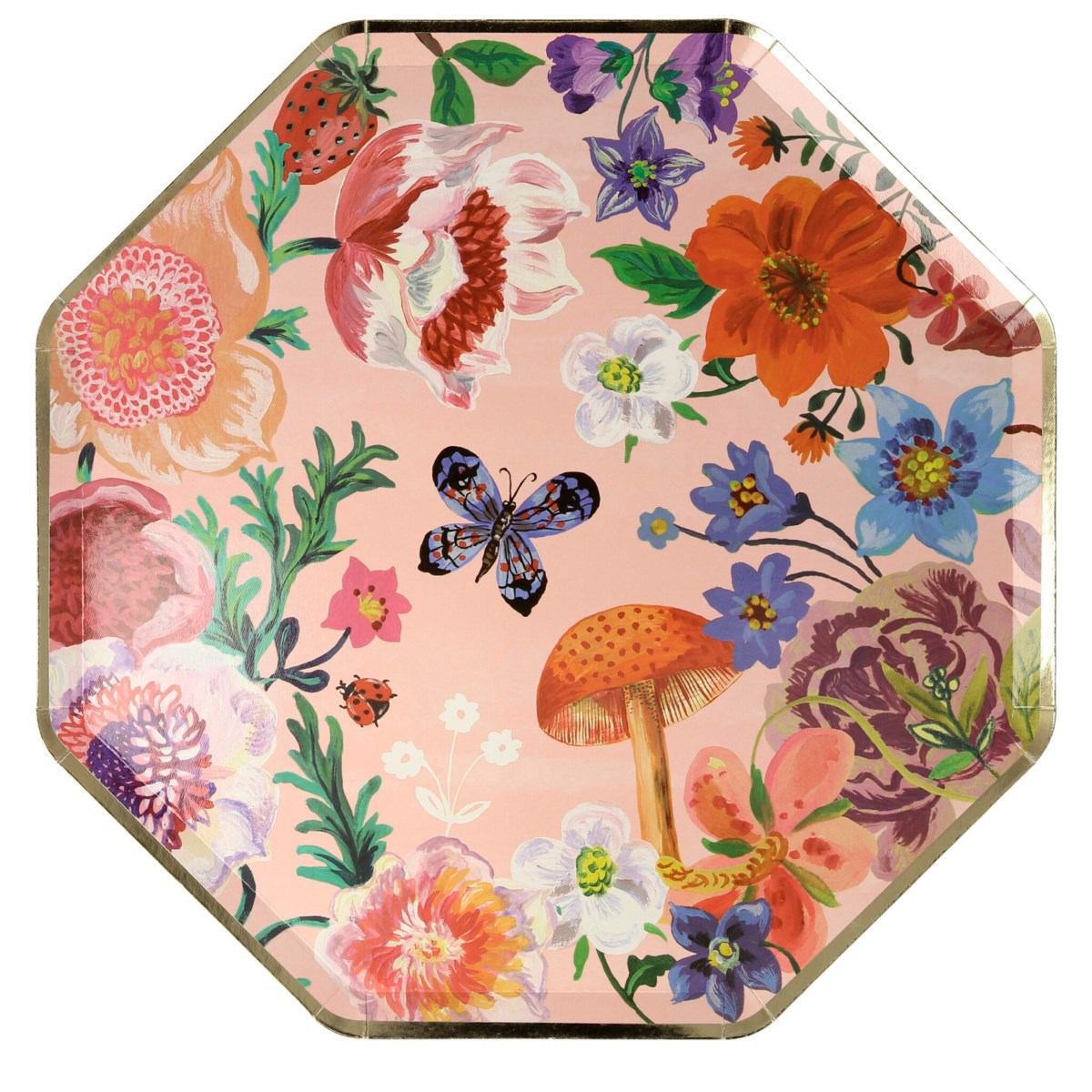Meri Meri Nathalie Lete Flora Paper Plates Dinner | Putti Party Supplies