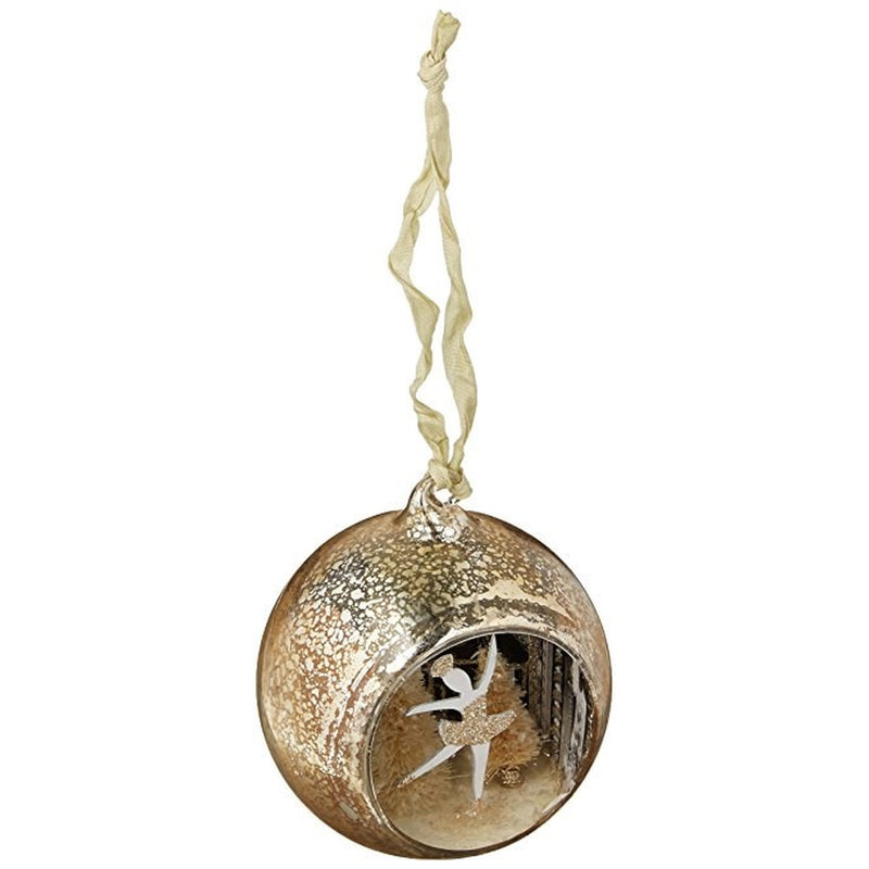 A Gilded Life Ballerina Curiosity Ornament |  Putti Christmas Canada