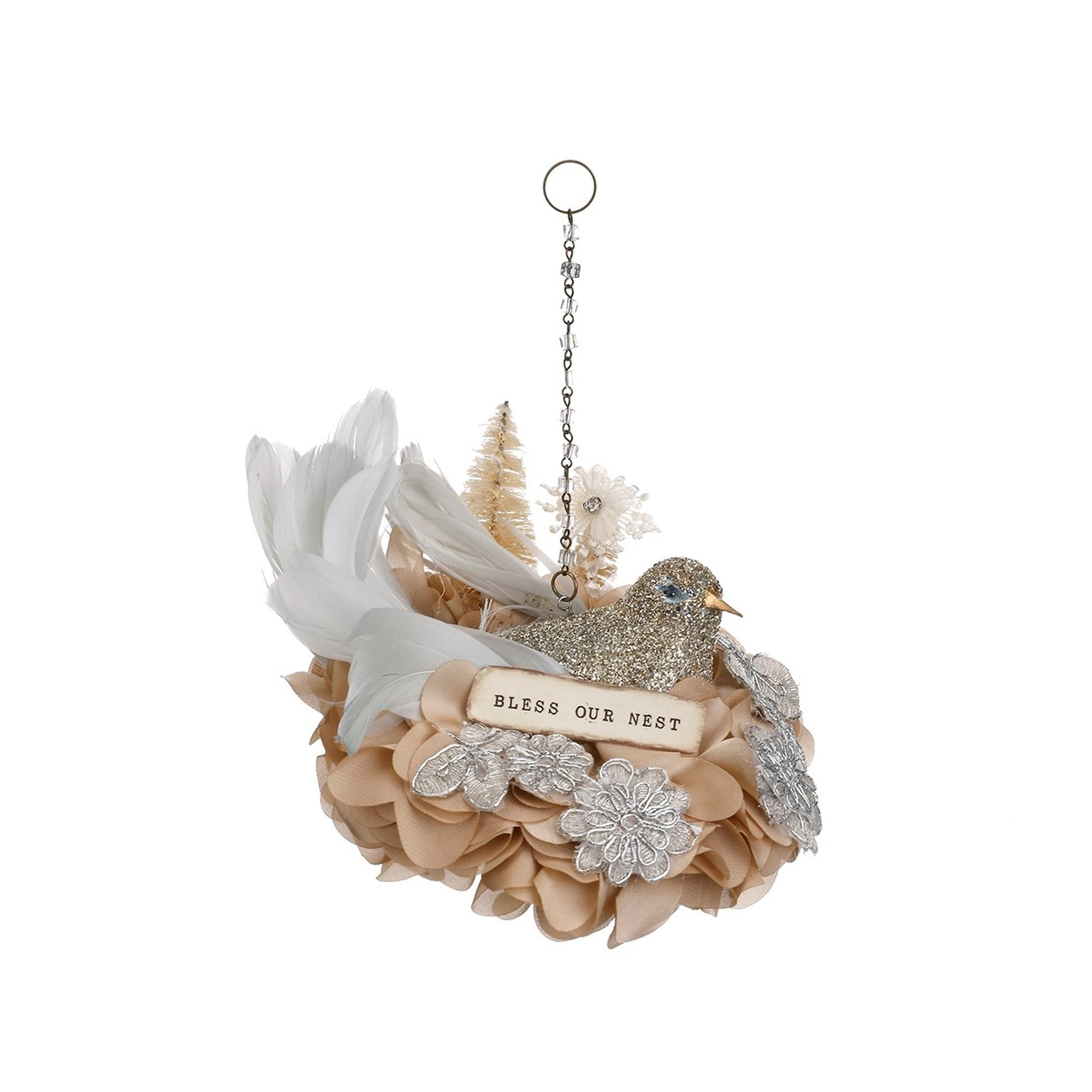 Bless Our Nest Ornament, DO-Demdaco, Putti Fine Furnishings