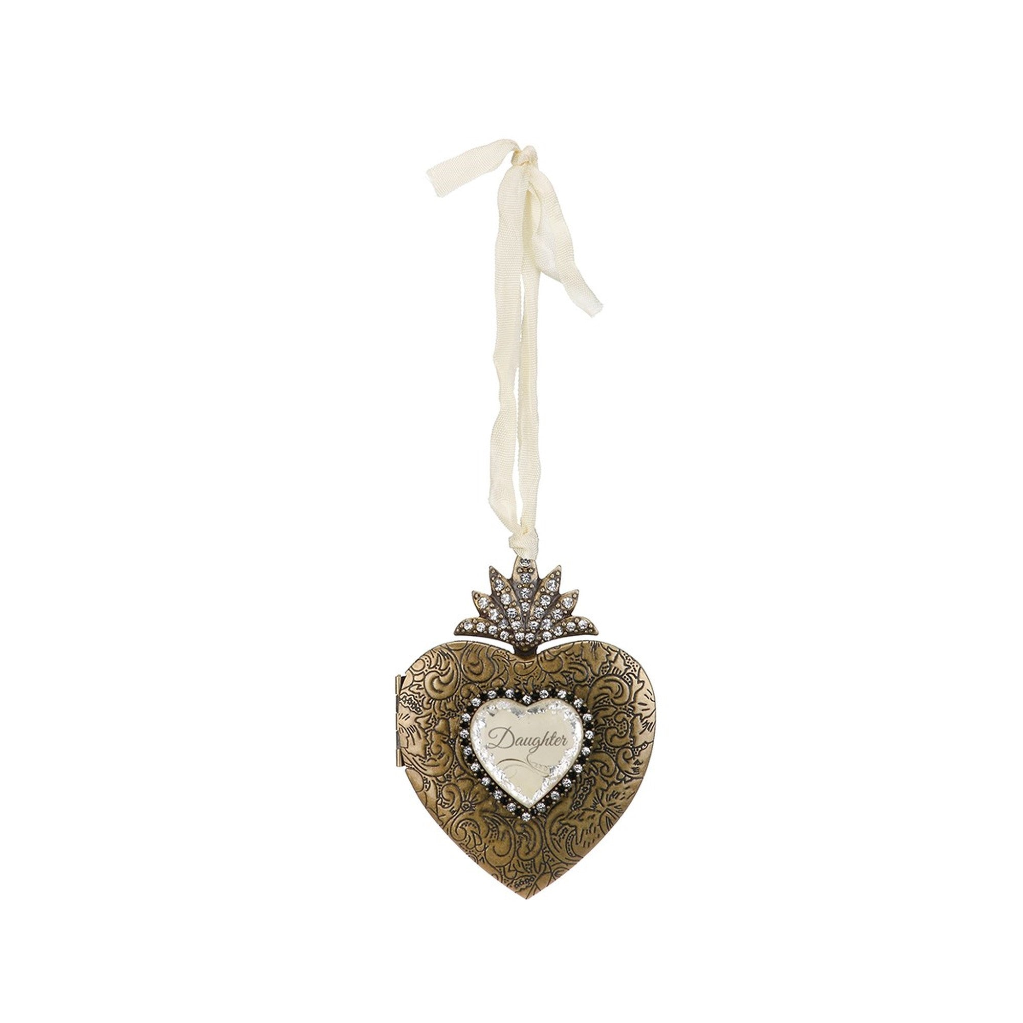 Demdaco A Gilded Life Daughter Heart Locket | Putti Christmas Canada
