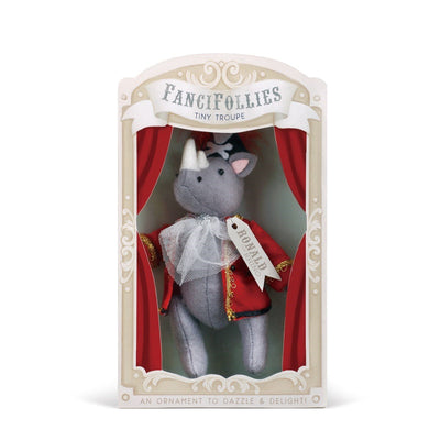 "Fanci Follies ""Ronald the Rhino"" Sea Captain Ornament 