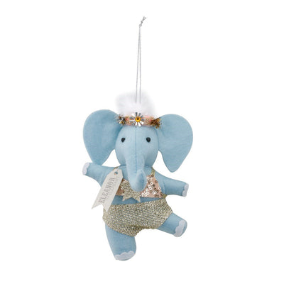 "Demdaco Fanci Follies ""Eleanor the Elephant"" Dancer Ornament 