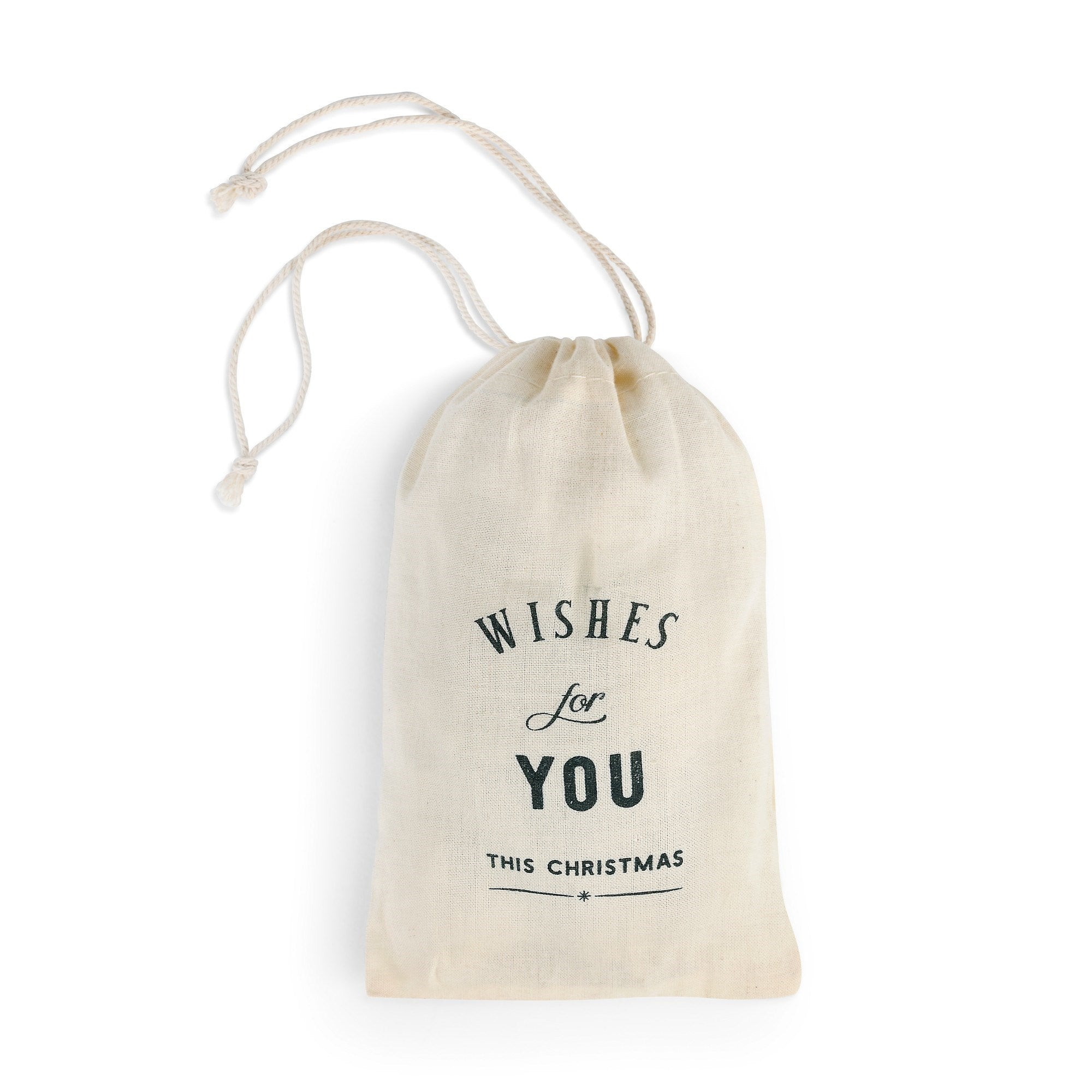 Wishes For You this Christmas Porcelain Ornament Bag | Putti Christmas