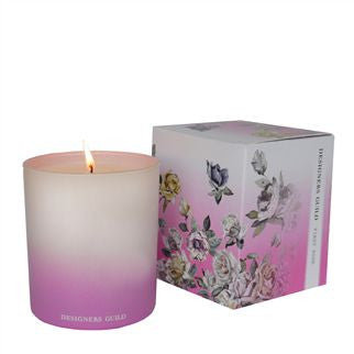 Designers Guild First Rose Scented Candle-Home Fragrance-DG-Designers Guild-First Rose Scented Candle-Putti Fine Furnishings