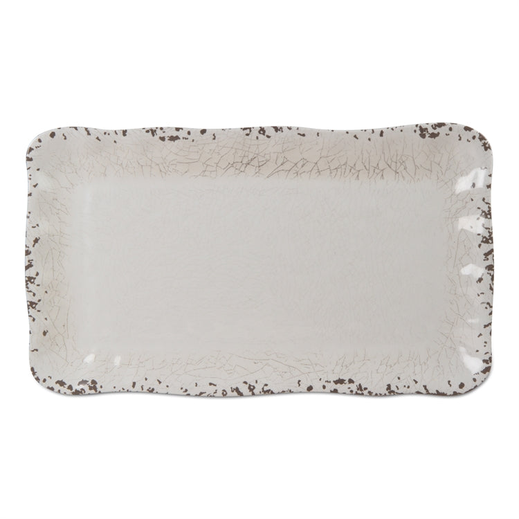 """Veranda"" Bamboo Melamine Platter 