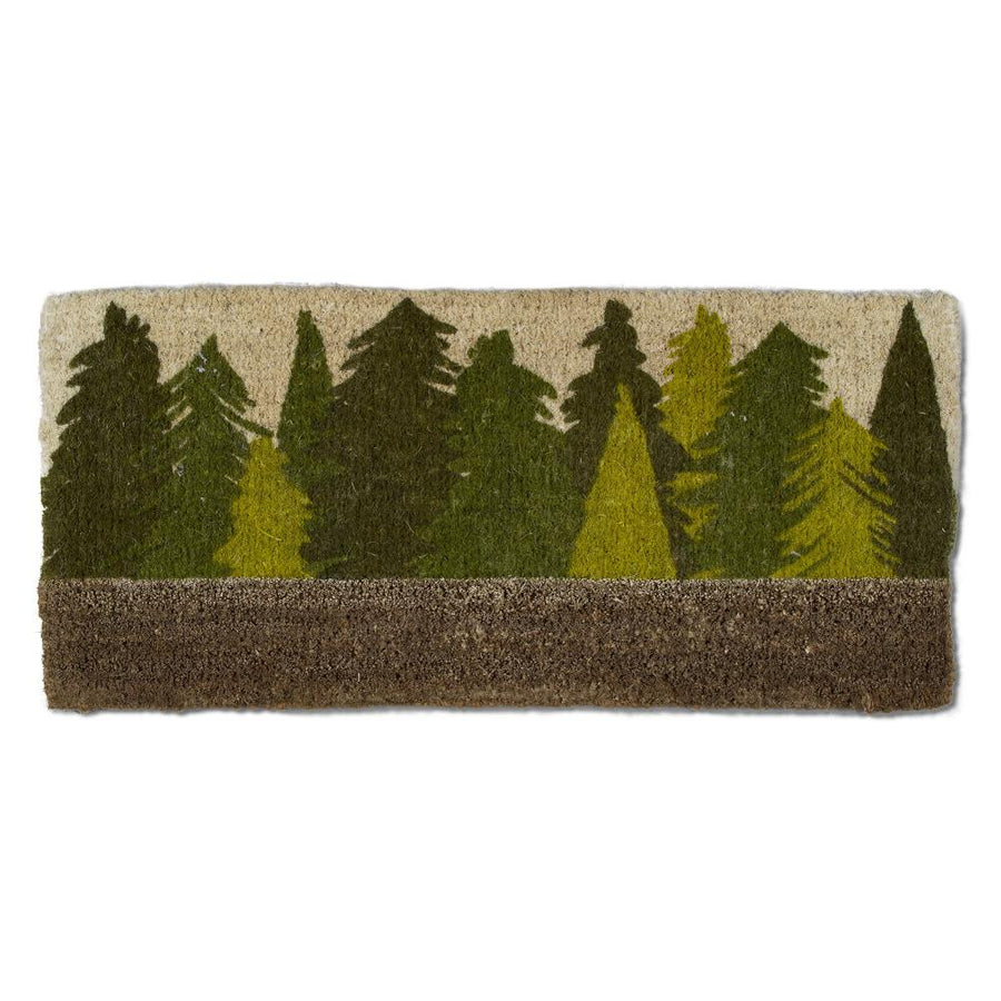 Woodland Trees Coir Estate Doormat